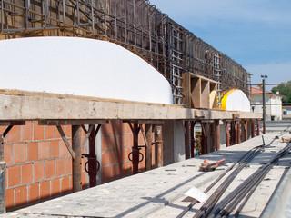 costruzione archi