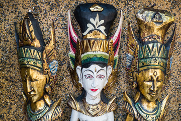 Bali, Indonesia - Assortment of various statues