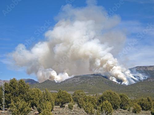 Rangeland Fire - 64280732
