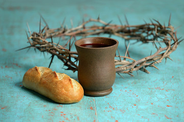 Bread, Crown and Crown of Thorns