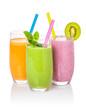 Smoothies aus Obst und Gemüse - 64282121