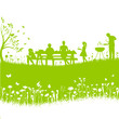 bbq session vector silhouette