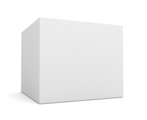 white single product box