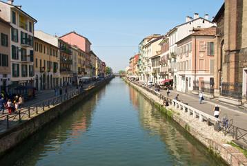 Naviglio Grande di Milano