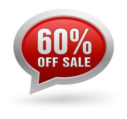 60 percent off sale