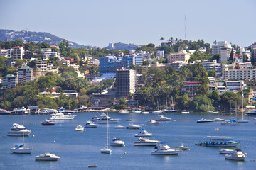 View on bay of Acapulco