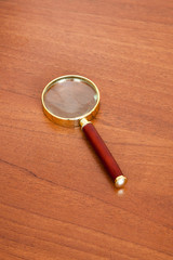 Magnifying Glass on Table