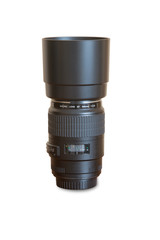 DSLR Photo Lens, Isolated