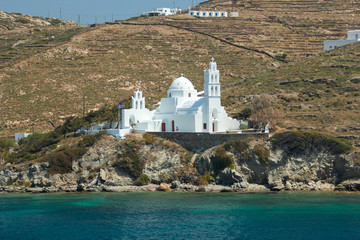 Greece Paros island in cyclades