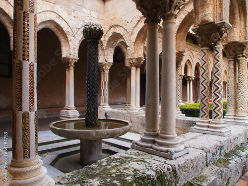 Monreale Cathedral - The cloister - 64284753