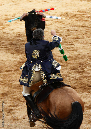 Staande foto Stierenvechten Torada, Tourada, Corrida