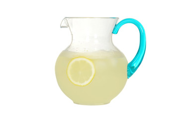 pitcher of lemonade