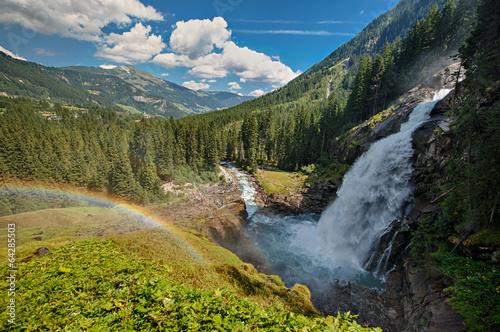 canvas print picture Krimmler Wasserfall