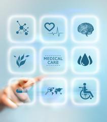 Medical care service concept
