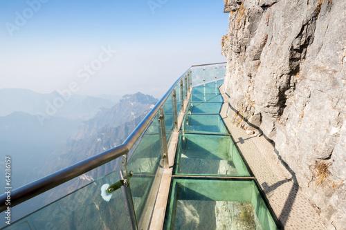 Foto op Canvas China Tianmenshan Tianmen Mountain China