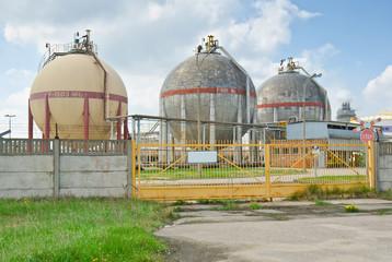 Nitrogen chemical plant in Wloclawek, Poland