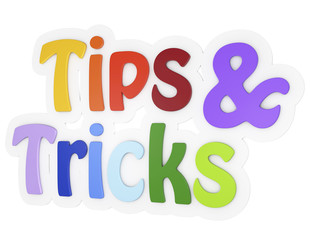 tips and tricks 3d text