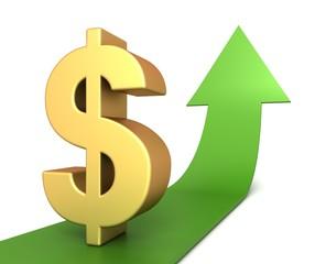 dollar rising