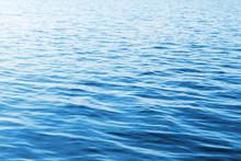 niebieska woda zdjęcie tła z fal miękkich