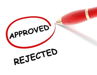 approved rejected