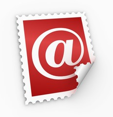 e mail postage stamp