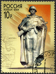 RUSSIA - 2004: shows statue of the Unknown Soldier