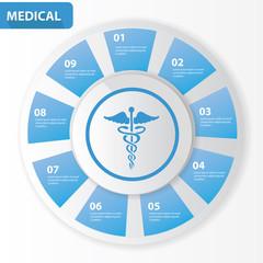 Medical Chart,Vector