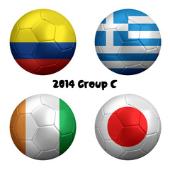 2014 FIFA World Cup Group C Nations