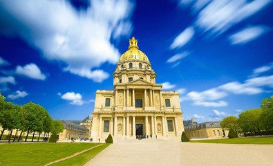 Hôtel des Invalides à Paris en France