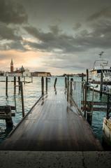 Ponton à Venise