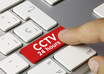 CCTV 24 Hours. Keyboard