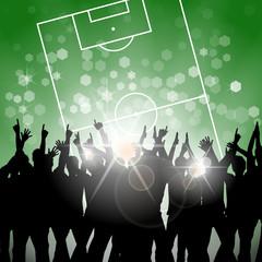 publikum fussballfeld I