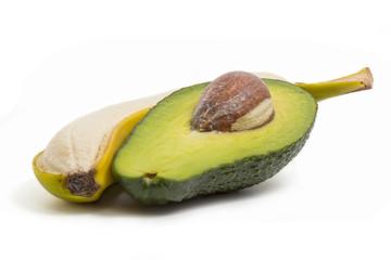 avocado and banana