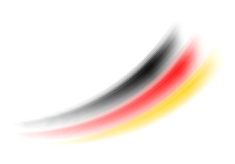 Deutschland Farben - Schweif
