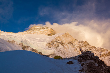 Sunset on Cho Oyu