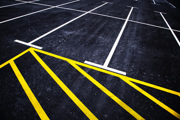 Parking lines background