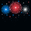 Colored firework - 64295112