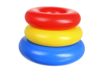 Plastic Toy Stacking Rings