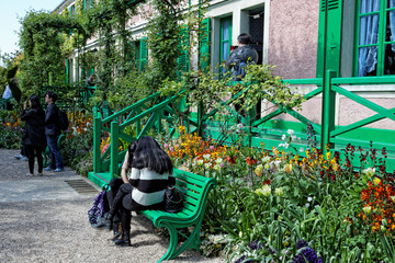 Maison de Claude Monet à Giverny (France)