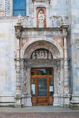Duomo di Como, facciata e porta