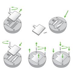 Batteriefach * Batteriewechsel AA