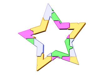 yıldız puzle menü
