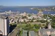 Old Quebec City in summer, from Observatoire de la Capitale