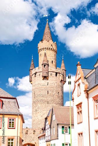 Adolfsturm auf der Burg Friedberg in der Wetterau
