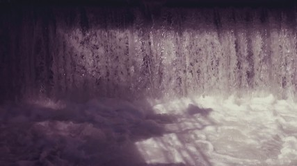 abstract background with flowing water with retro filter effect