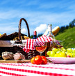 picnic on the grass - 64300544