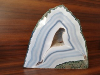 Chalcedony Geode Quartz Crystal