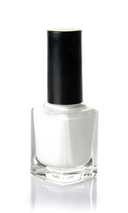 White nail varnish