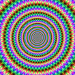 Psychedelic Spiked Circles