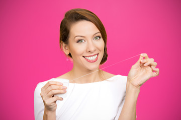Floss daily young dentist advise recommended teeth care